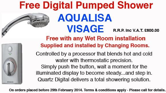 Free Digital Pumped Shower